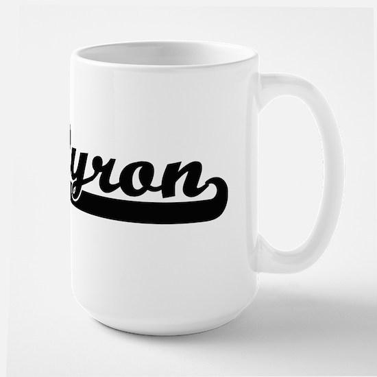 Byron Classic Retro Name Design Mugs