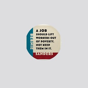 Bernie Sanders 2016 Mini Button