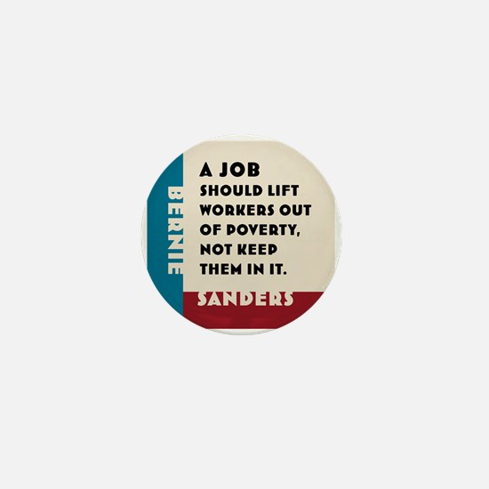 Bernie Sanders 2016 Mini Button