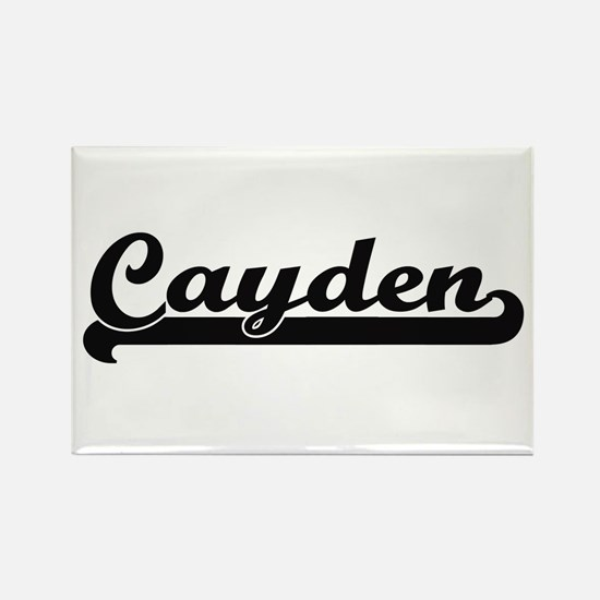 Cayden Classic Retro Name Design Magnets