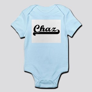 Chaz Classic Retro Name Design Body Suit