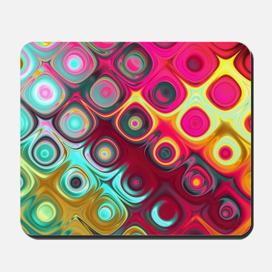 Megafunky Rainbow patterns Mousepad