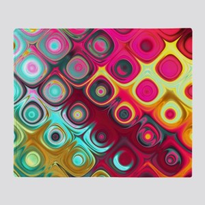 Megafunky Rainbow patterns Throw Blanket