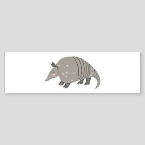 Armadillo Animal Bumper Sticker