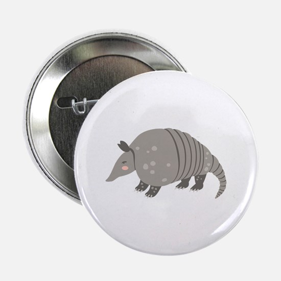 """Armadillo Animal 2.25"""" Button (10 pack)"""