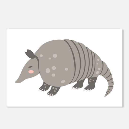 Armadillo Animal Postcards (Package of 8)