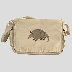 Armadillo Animal Messenger Bag