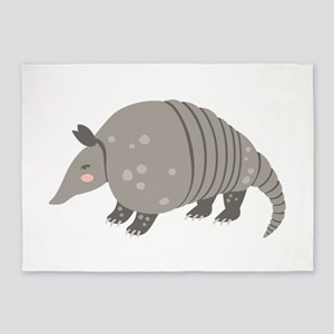 Armadillo Animal 5'x7'Area Rug