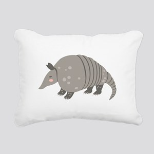 Armadillo Animal Rectangular Canvas Pillow