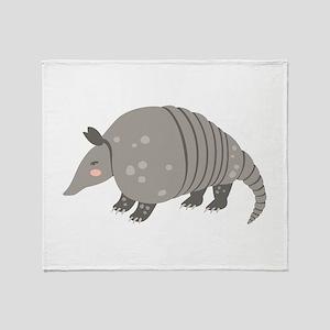 Armadillo Animal Throw Blanket