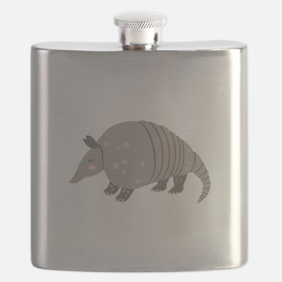 Armadillo Animal Flask