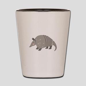 Armadillo Animal Shot Glass
