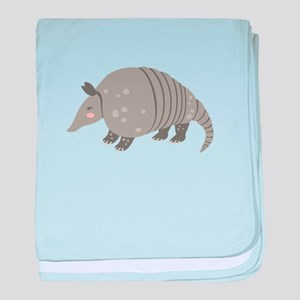 Armadillo Animal baby blanket