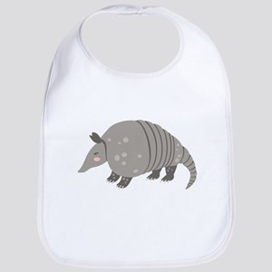 Armadillo Animal Bib