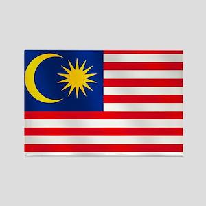 Flag of Malaysia Rectangle Magnet