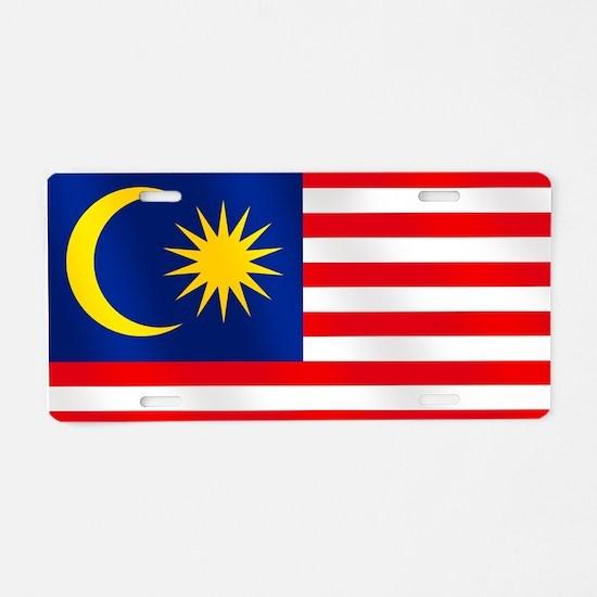 Flag of Malaysia Aluminum License Plate