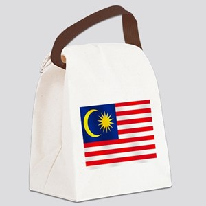 Flag of Malaysia Canvas Lunch Bag