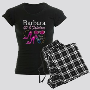GORGEOUS 40TH Women's Dark Pajamas