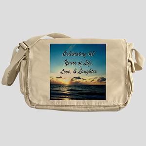 40TH PRAYER Messenger Bag