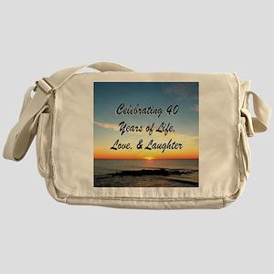 40TH BLESSING Messenger Bag