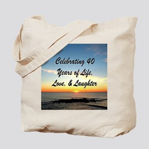 40TH BLESSING Tote Bag