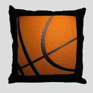 Basketball Big Wide Throw Pillow
