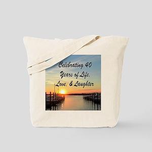 40TH PRAYER Tote Bag