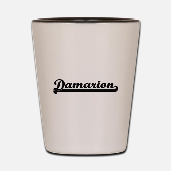 Damarion Classic Retro Name Design Shot Glass