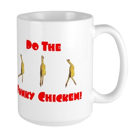 Large Funky Chicken Mug
