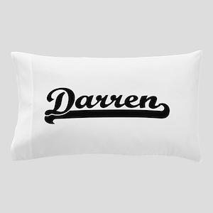 Darren Classic Retro Name Design Pillow Case
