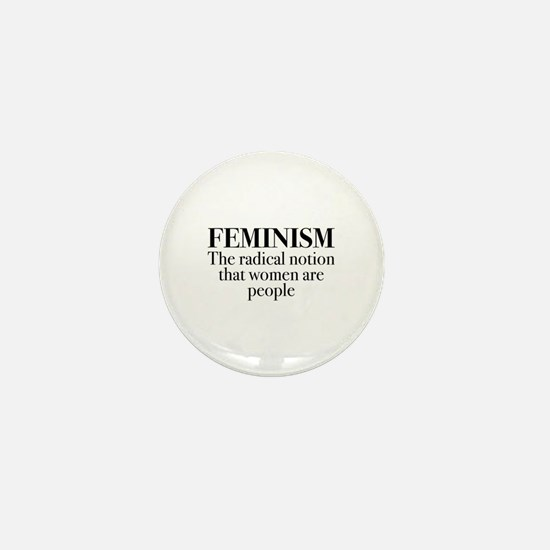 Feminism Mini Button