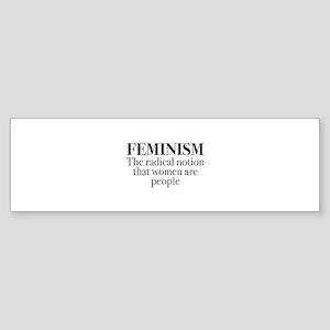 Feminism Sticker (Bumper)