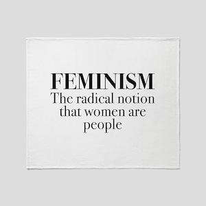 Feminism Stadium Blanket