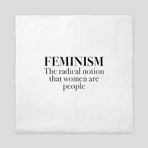 Feminism Queen Duvet