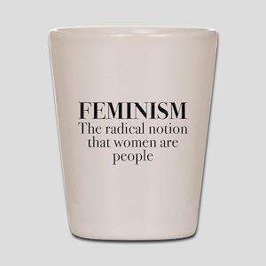 Feminism Shot Glass