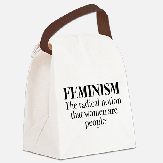 Feminism Canvas Lunch Bag