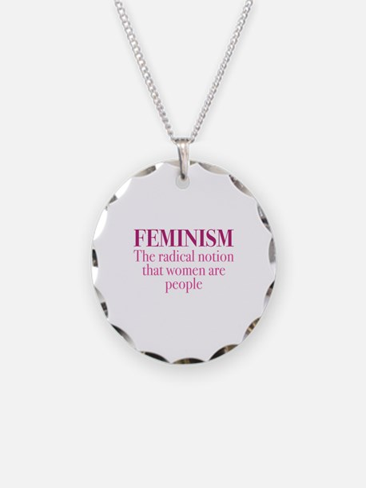 Feminism Necklace