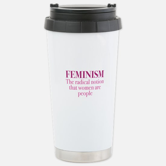 Feminism Ceramic Travel Mug