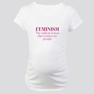 Feminism Maternity T-Shirt