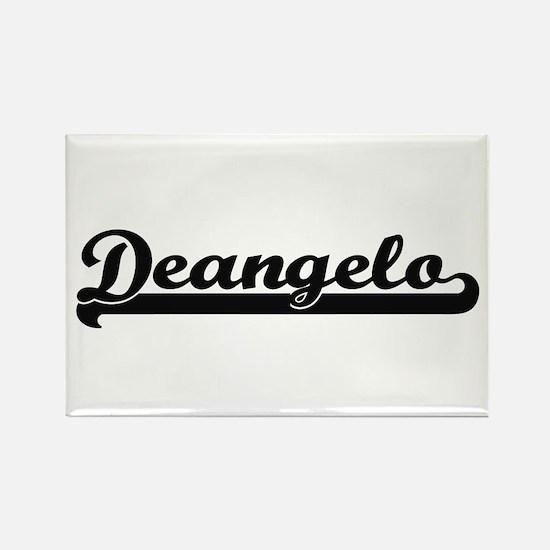 Deangelo Classic Retro Name Design Magnets