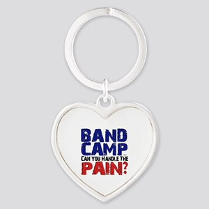 Band Camp 2 Heart Keychain
