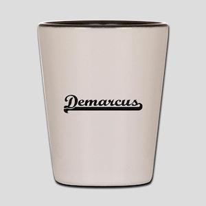 Demarcus Classic Retro Name Design Shot Glass