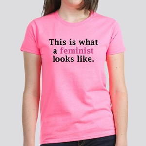 This Is What A Feminist Looks Like Women's Dark T-