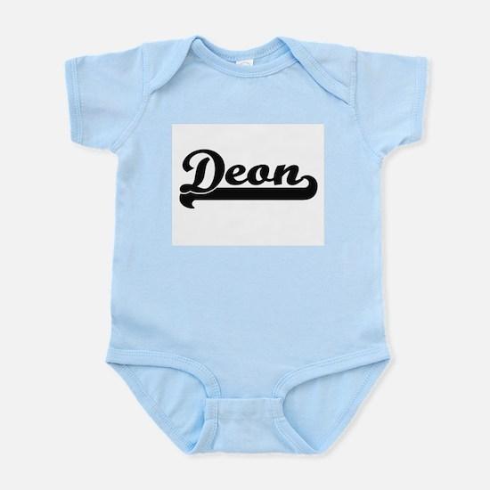 Deon Classic Retro Name Design Body Suit