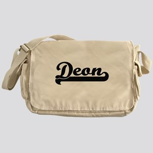 Deon Classic Retro Name Design Messenger Bag