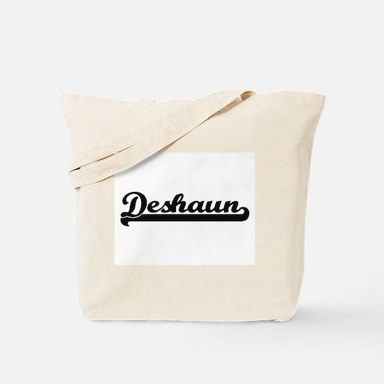 Deshaun Classic Retro Name Design Tote Bag