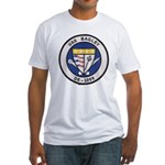 USS BAGLEY Fitted T-Shirt