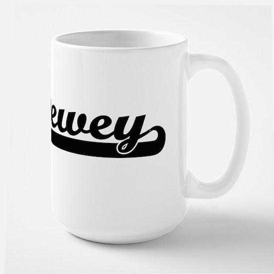 Dewey Classic Retro Name Design Mugs