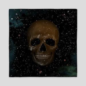 Space Skull Queen Duvet