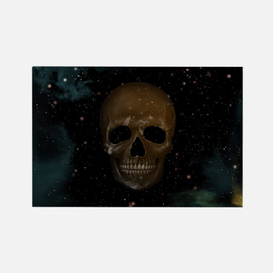 Space Skull Magnets